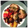 Recipe:  Rolled Scotch Lamb Shoulder with Basil and Pine Nuts
