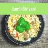 Recipe: lamb biriyani (Christmas leftovers)