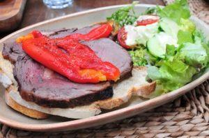 le di vin roast beef