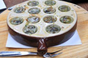 le di vin snails