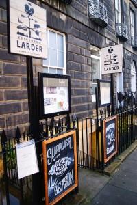 Edinburgh Larder Outside