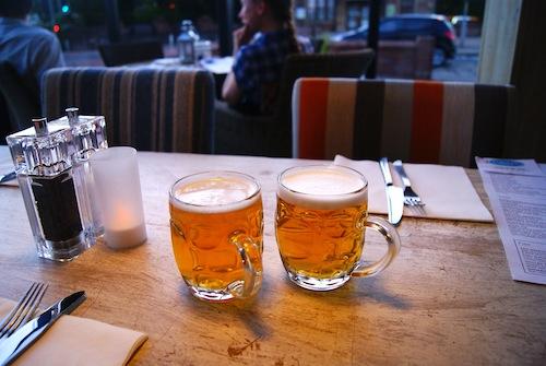 Tullie Inn real ale