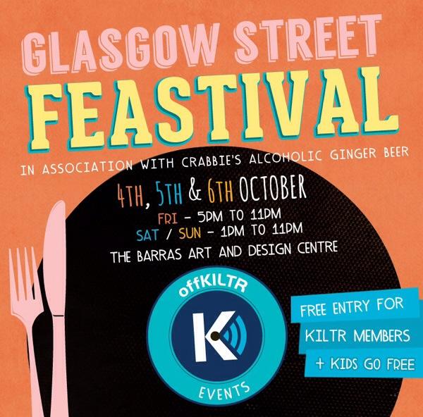 Kiltr Street Festival Oct 2013 poster