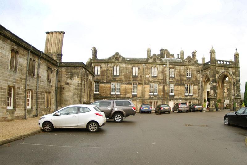 Mar Hall entrance