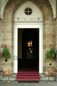 Mar Hall entrance Door