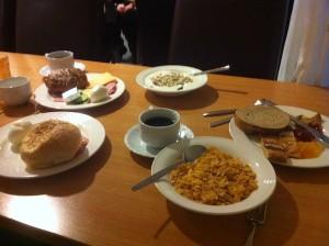 Breakfast Hotel Cabin, Reykjavik, Iceland © Food and Drink Glasgow Blog