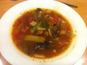 Vegetable Soup, Hotel Cabin, Reykjavik, Iceland © Food and Drink Glasgow Blog