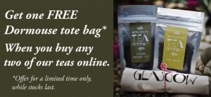 Dormouse tea company free bag a food and drink Glasgow