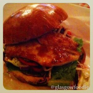 Aretha Franklin Burger, Burger Meats Bun, © Food and Drink Glasgow Blog