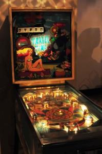 Travel Time pinball machine