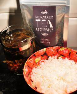 Jasmine Tea from Dormouse Tea © Food and Drink Glasgow Blog