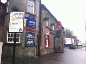 Outside Crow Tavern, Bishopbriggs.  © Food And Drink Glasgow