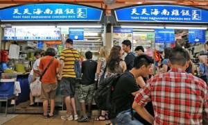Best rice dish: Hainanese chicken rice at Tian Tian, Singapore chowzter awards london food drink glasgow blog