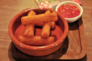 Las Iguanas Casava Fries