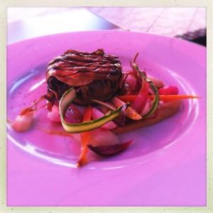 Le parc Franck putelet Michelin star Carcassonne citie city France South food and drink Glasgow blog