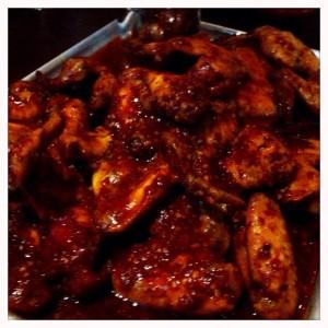 Hot wings The raven pub bar Glasgow maclay inns food drnk Glasgow blog 81 Renfield street