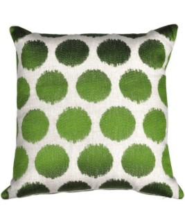 Green cushion Pierrot et coco Shawlands Glasgow food and drink Glasgow blog lifestyle