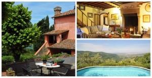 Tuscany now Italy italian infinity pool villa