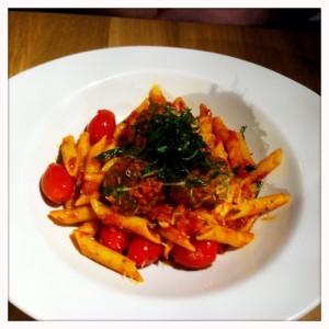 nene margherita polpette Giraffe restaurant review silverburn tesco Glasgow food drink blog