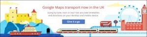 Google maps transport food drink Glasgow blog