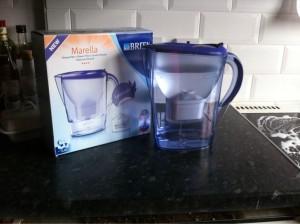 BRITA Marella water filter jug food drink Glasgow blog review product