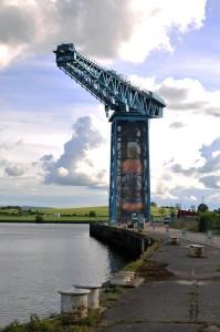 titan crane clydebank whyte and mackay whisky scotland history