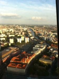 Alexander platz tv tower berlin