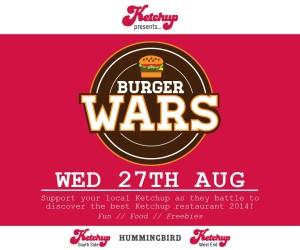 Ketchup burger wars