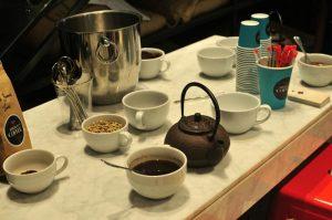 Gordon Street Coffee cupping session