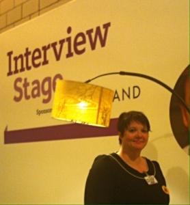 Bbc good food show scotland interview stage emma Mykytyn Glasgow foodie food and drink Glasgow