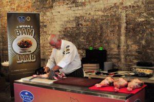 SWG3 Scotch Lamb Festival - butchery lesson
