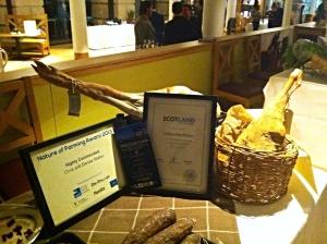 The SRA sustainable restaurant association Edinburgh event