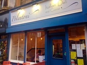 Polentoni Edinburgh cafe deli