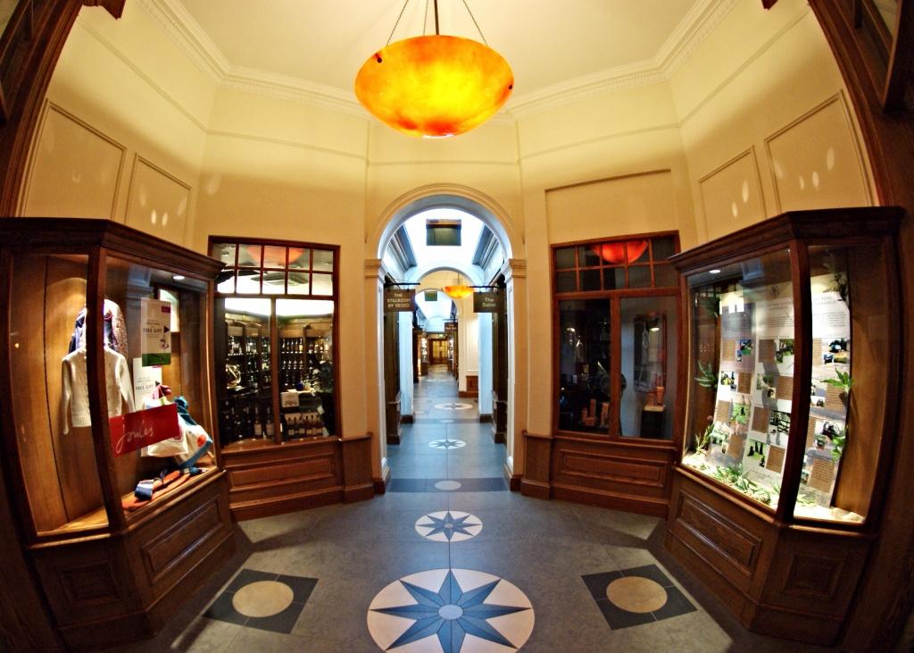 Gleneagles Perthshire scotland shopping lobby