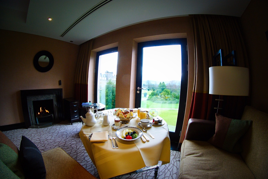 The braid house room Gleneagles Perthshire scotland bedroom