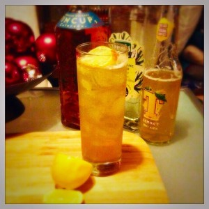 Lemon T Tennents Lager Beer Cocktails