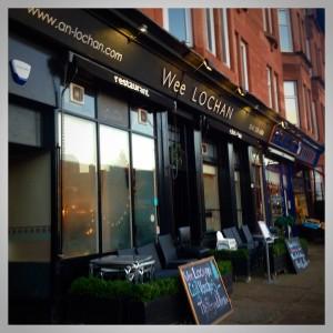 Wee lochan crow road Broomhill Glasgow food restaurant