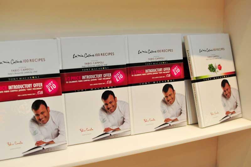 Tony Macaroni - Fabio Campoli receipe book