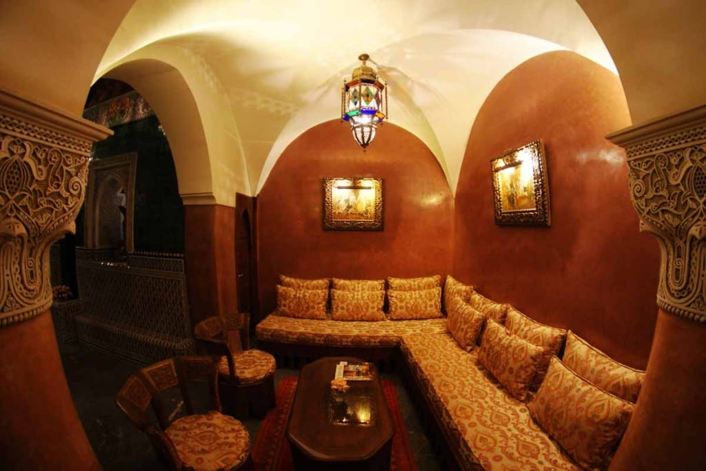 La Sultana - cosy seating areas