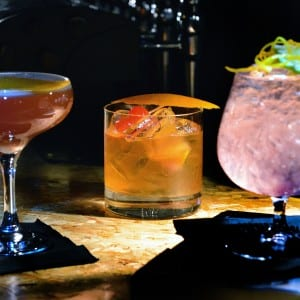 Carriage paisley cocktails