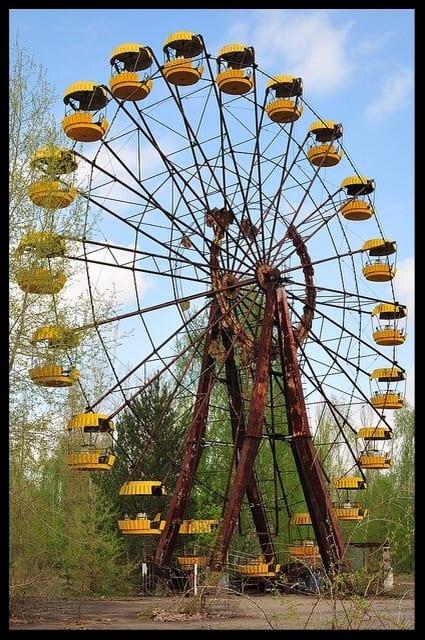 ferris wheel pripyat