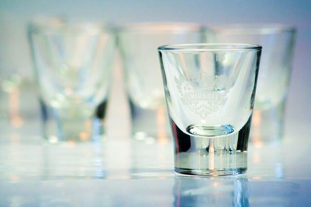spirit glass alcohol