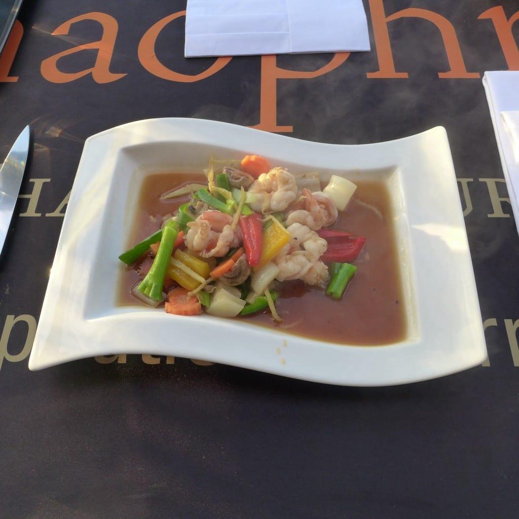 ginger prawns chaophraya cooking class thai edinburgh glasgow food drink glasgow foodie