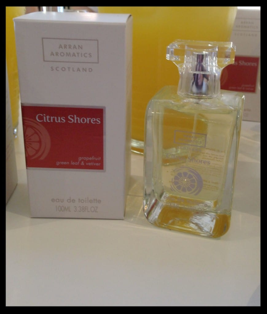 citrus shores arran aromatics food drink glasgow foodie summer scent