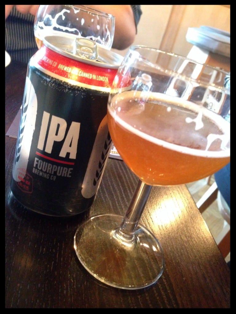 fourpure grunting growler glasgow foodie food drink glasgow beer