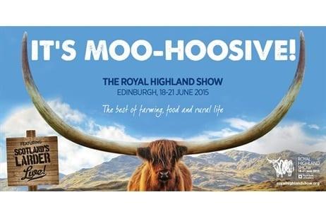 royal highland show 2015 glasgow foodie