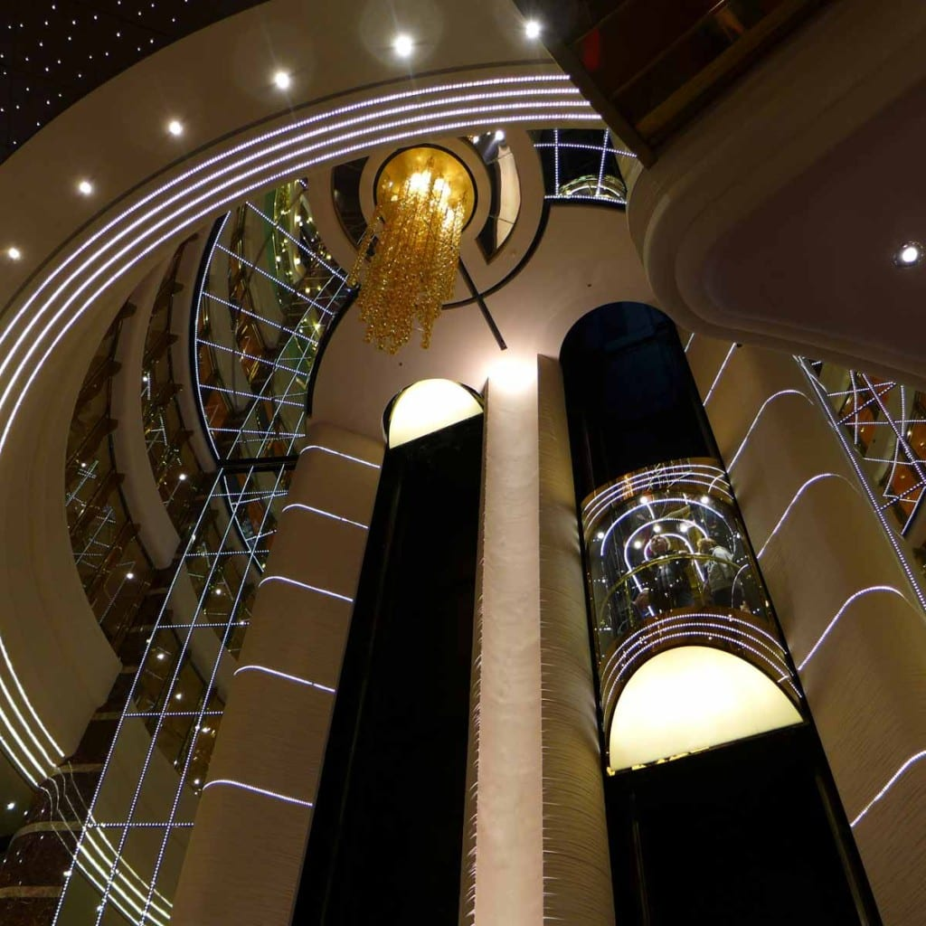 MSC Splendida - Elevators