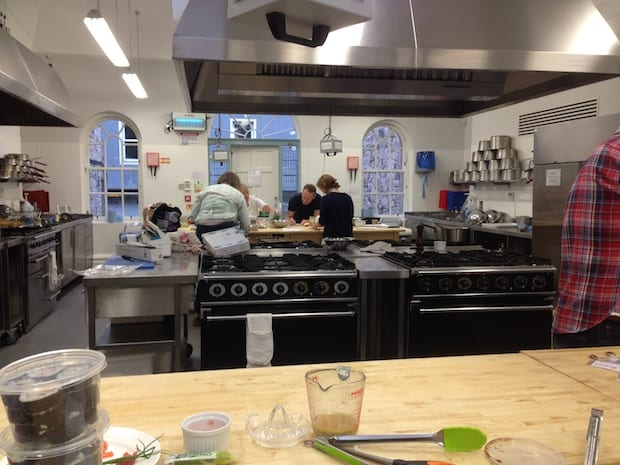 edinburgh new town cookery school glasgow foodie