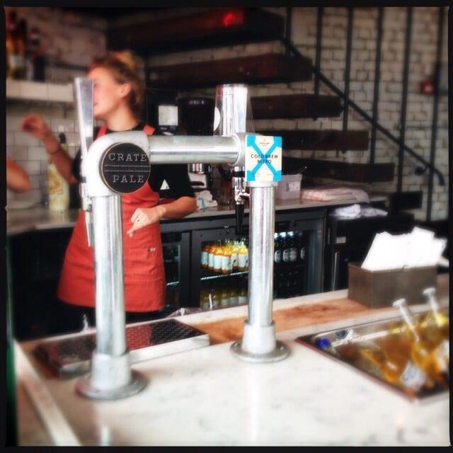 beer shoreditch grind old street london coffee glasgow foodie