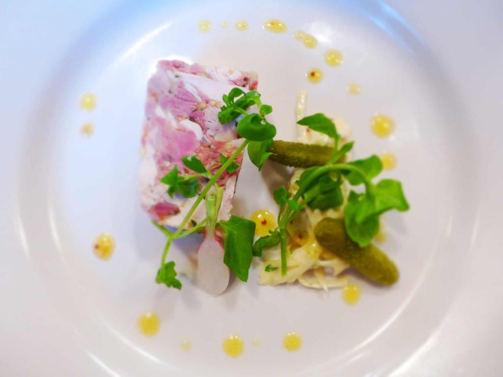 Cafe St Honore - Chicken & ham hock terrine